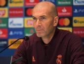 زيدان عن تراجع أداء ريال مدريد: نحصل على النقاط حتى لو لم نلعب بشكل جيد