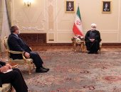 صور.. رئيس إيران: مواجهة الاحتلال الإسرائيلي هدف مشترك لطهران ودمشق