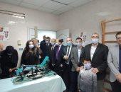 افتتاح وحدة الدكتور عمرو الجزار للعلاج الطبيعى ببنها الجامعى بالجهود الذاتية
