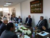 غرفة بورسعيد التجارية تعرض أنشطتها على رئيس الاتحاد.. والعربى يطالب بالتطوير