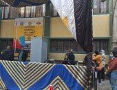 إقبال الناخبين على لجان مدينة نصر بجولة إعادة النواب