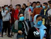 توافد الناخبين على لجنة الجامعة العمالية فى مدينة نصر بإعادة النواب..فيديو وصور