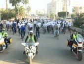 كفر الشيخ تحتفل باليوم العالمى لمحاربة الفساد بماراثون دراجات وجرى.. فيديو وصور