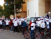 أسوان تنظم ماراثون دراجات احتفالا باليوم العالمى لمكافحة الفساد.. صور