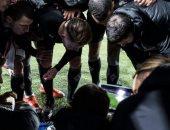 احتفال جنونى من لاعبى مونشنجلادباخ فى مدريد بعد إقصاء إنتر ميلان.. فيديو