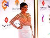 رانيا يوسف ترقص بفستان مثير فى ختام مهرجان القاهرة السينمائى.. فيديو وصور