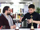 النجم أمير المصرى ضيف تليفزيون اليوم السابع بعد قليل
