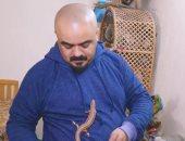 فلسطينى يحول منزله لحديقة حيوانات صغيرة.. فيديو وصور