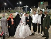 أهالى شمال سيناء يتكفلون بحفل زفاف كفيفين بالعريش.. فيديو وصور