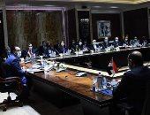 بدء جلسة مباحثات مصرية عراقية برئاسة رئيس الوزراء