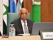 عبد العال يؤكد تواصل مساندة مصر بقيادة الرئيس السيسى للبرلمان العربي.. صور