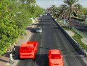 شرطة أبوظبى تعلن 500 درهم غرامة لغير الملتزمين بإعطاء الأولوية للمشاة