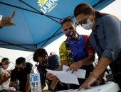صور.. المعارضة الفنزويلية تنظم استفتاء شعبى لرفض نتيجة الانتخابات البرلمانية