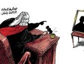 المحكمة الدولية الخاصة بلبنان تحكم على قتلة رفيق الحريرى في كاريكاتير اليوم