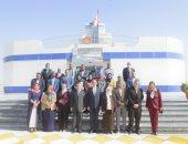 الفريق أسامة ربيع يؤكد أهمية قناة السويس فى تنمية التجارة بالمنطقة.. صور