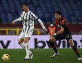 رونالدو يقود يوفنتوس لفوز صعب أمام جنوى في الدوري الإيطالي.. فيديو