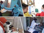 """وزيرة الصحة: علاج 177 ألف مواطن خلال شهر بالقوافل العلاجية ضمن """"حياة كريمة"""""""