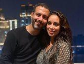 رسالة رومانسية من محمد فراج لخطيبته بسنت شوقى فى عيد ميلادها: انتى الحياة