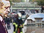 وكالة الأنباء الفرنسية تفضح متاجرة أردوغان بدعاوى الدفاع عن النبي.. صور