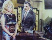 """شادية فى صورة نادرة مع محمود مرسى من تصوير فيلم """"امرأة عاشقة"""" من 46 سنة"""