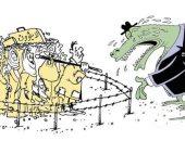 كاريكاتير صحيفة عمانية.. غياب البعد الإنسانى الدولى يفاقم أزمة اللاجئين