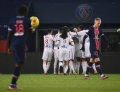 باريس سان جيرمان يسقط أمام ليون بالدوري الفرنسي وإصابة مروعة لنيمار.. فيديو