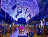 قارئ يشارك بصور التجهيز لاحتفالات الكريسماس ورأس السنة بالشيخ زايد