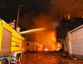 الحماية المدنية تسيطر على حريق شب فى مستشفى خاص شرق الإسكندرية
