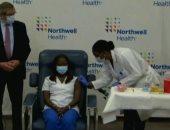 شاهد أول ممرضة فى نيويورك تتلقى لقاح فايزر الأمريكى لـ كورونا