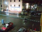 استمرار سقوط الأمطار المتقطع على مطروح والساحل الشمالى.. فيديو وصور