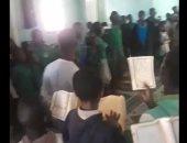 صوت عابر للحدود.. طلاب يتلون القرآن بطريقة الشيخ الحصرى فى السنغال.. فيديو