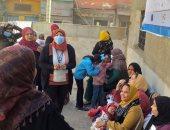 """استمرار الحملة التنشيطية لتنظيم الأسرة بعنوان """"حقك تنظمى"""" بأسوان.. صور"""