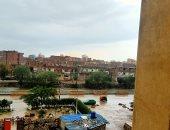 سقوط أمطار غزيرة على محافظة الشرقية..صور