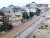 صور.. الأمطار تتواصل على شمال سيناء والمحافظ يعلن الطوارئ
