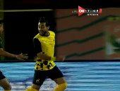تصرف غريب من صلاح أمين عقب استبداله في مباراة الزمالك ودجلة.. فيديو