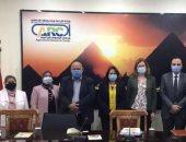 نائب المستشار الزراعى الفرنسى تزور مركز البحوث الزراعية لبحث التعاون مع مصر