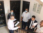 لجنة الضبطية القضائية بالقاهرة الجديدة تشُن حملة لضبط مخالفات الإسكان الاجتماعي