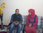 السيدة المغتصبة أمام زوجها بمقابر الإسماعيلية: حكم الإعدام أبكانى.. صور