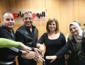 """إلهام شاهين تشكر """"اليوم السابع"""" بعد ندوة الاحتفاء بتكريمها فى مهرجان القاهرة"""