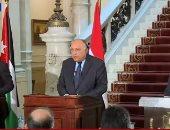 وزير الخارجية: مشاورات مع الأردن وفلسطين لكسر الجمود فى عملية السلام