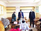 الوكيل الشرعى للإسكندرية الأزهرية يتفقد العملية التعليمية بمعاهد أبوقير