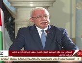 المالكى: ناقشنا وضع رؤية مشتركة للتعامل مع القضية الفلسطينية بالمرحلة المقبلة