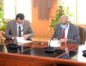 جامعة المنصورة توقع عقد إنشاء مراكز القياس والتقويم للتحول الرقمى