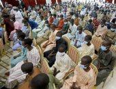 بكاء وسجود ..الأمن يحرر  عشرات التلاميذ من أيدى مسلحين غرب نيجيريا ..ألبوم صور