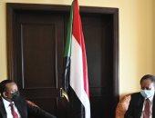 """رئيس وزراء السودان يلتقى آبى أحمد على هامش قمة """" إيجاد"""" فى جيبوتى"""