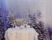 بريطانية تبنى مدينة عجائب فى المنزل لابنتها المريضة لتستمتع بالكريسماس.. صور
