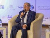 """وزير الإنتاج الحربى يشارك فى فعاليات افتتاح معرض """"ADEX 2021"""""""