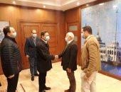 محافظ بورسعيد يستقبل رئيس الأعلى للإعلام للمشاركة فى احتفالات النصر.. صور