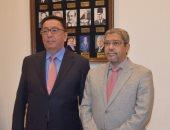 رئيس اتحاد الغرف يستقبل سفير كازاخستان لبحث العلاقات الاقتصادية الثنائية