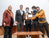 فوز فريق GAMA بمسابقة Hult Prize بمجال الغذاء من بين 15 فريقا بجامعة المنصورة